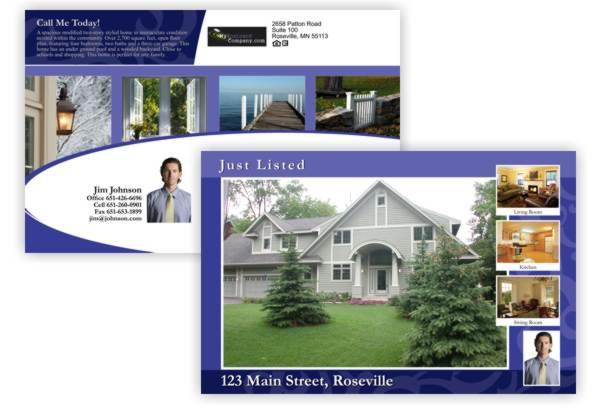 real estate postcard - print advertising