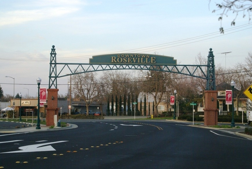 Roseville-downtown