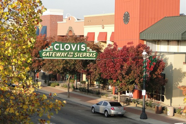 Clovis-downtown